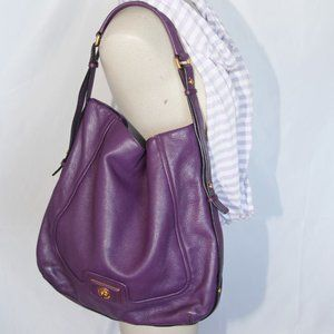 Marc Jacobs purple shoulder bag